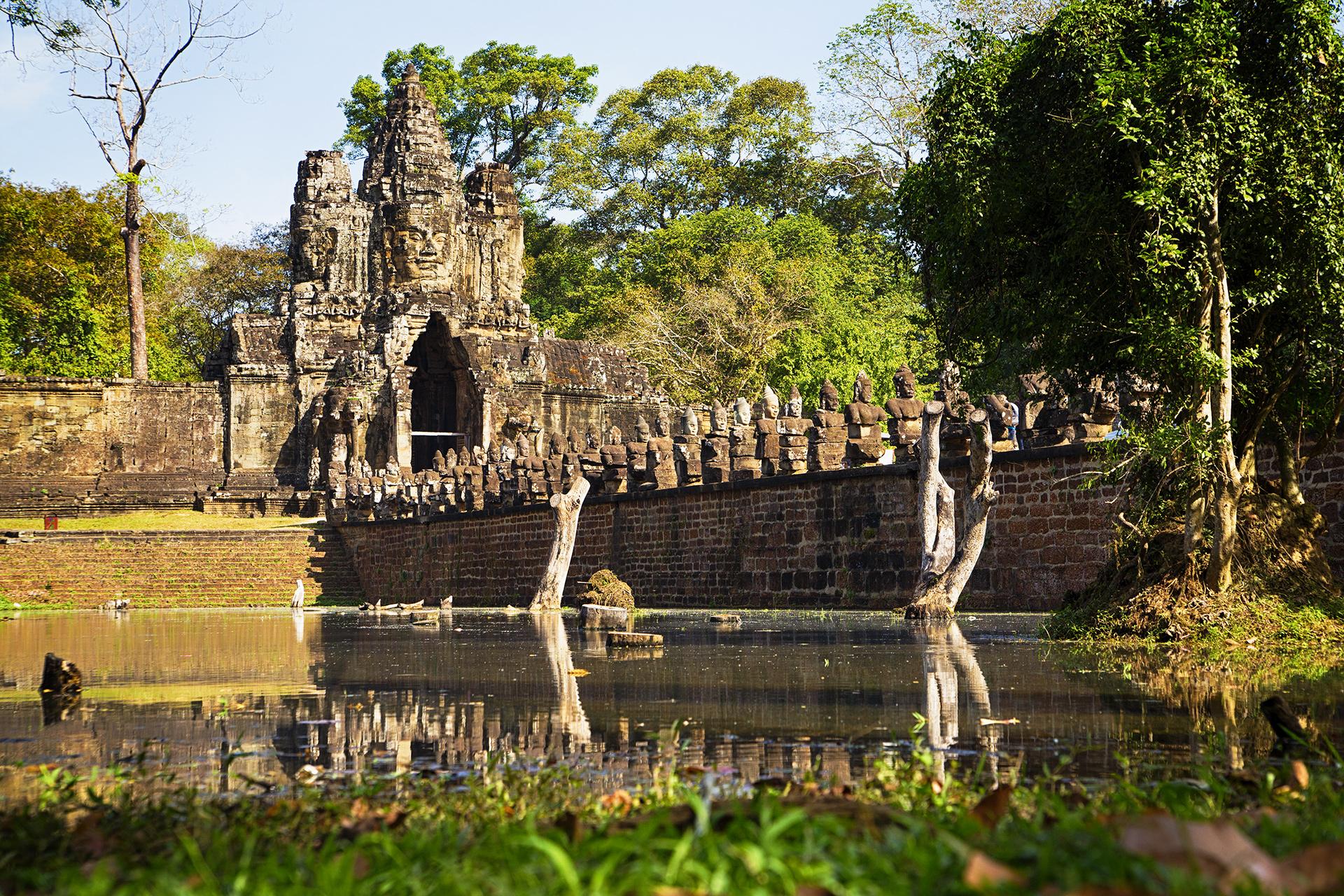 The Road to Angkor Wat
